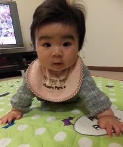 生後6か月のズリバイ