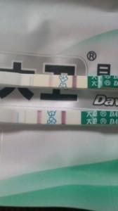 妊娠4週4日(4w4d)の妊娠検査薬